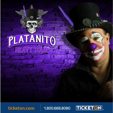 PLATANITO HEAVY TOUR - NUEVO SHOW: Main Image