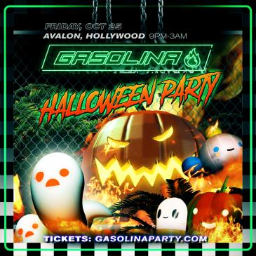 GASOLINA HALLOWEEN PARTY: Main Image