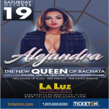 ALEXANDRA THE NEW QUEEN OF  BACHATA: Main Image