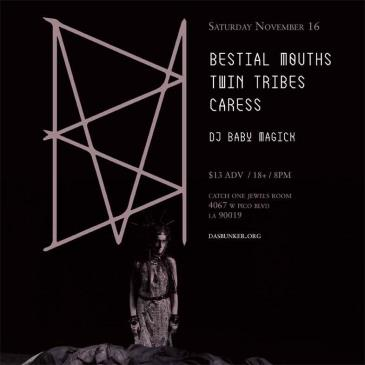 Bestial Mouths & Twin Tribes-img