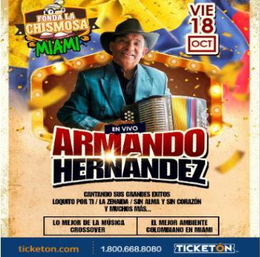 ARMANDO HERNANDEZ: Main Image