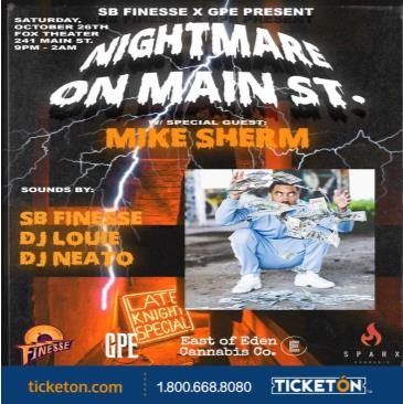 NIGHTMARE ON MAIN ST: Main Image
