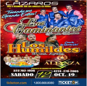 LOS CAMINANTES: Main Image