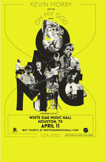 """KEVIN MORBY – """"April 2020 Tour"""" - CANCELLED: Main Image"""
