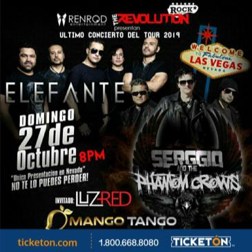 ELEFANTE Y SERGGIO N THE PHANTOMS