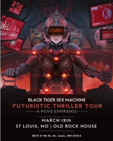 Black Tiger Sex Machine - ST. LOUIS: Main Image