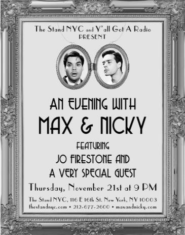 An Evening with Max & Nicky!: Main Image