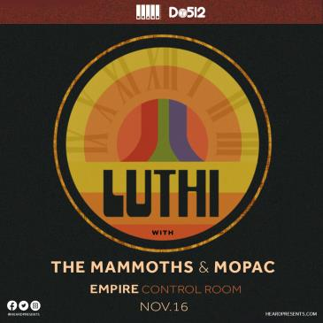 LUTHI with The Mammoths, Mopac: Main Image
