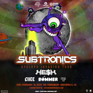 Subtronics - GREENVILLE (CANCELED): Main Image