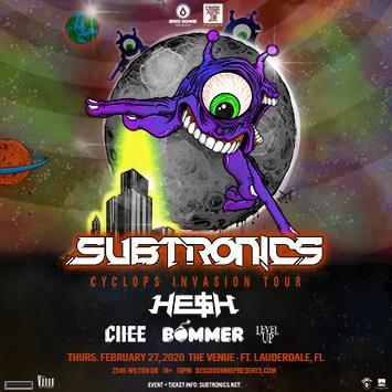 Subtronics & HE$H - FORT LAUDERDALE: Main Image