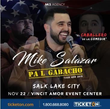 "MIKE SALAZAR ""PA'L GABACHO TOUR"": Main Image"