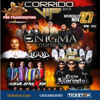 CANCELADO CORRIDO VIP 2019: Main Image