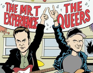 THE MR.T EXPERIENCE & THE QUEERS: Main Image