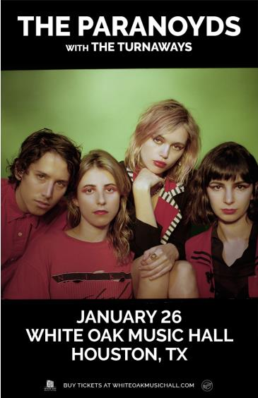 The Paranoyds with The Turnaways: Main Image