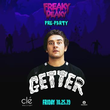 Freaky Deaky Pre-Party Ft. Getter - HOUSTON: Main Image