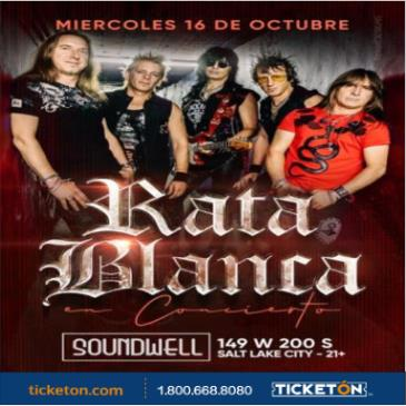 RATA BLANCA EN SALT LAKE CITY