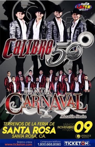 CALIBRE 50, BANDA CARNAVAL: Main Image