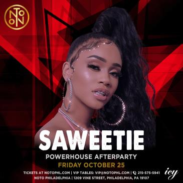 Saweetie: Powerhouse Afterparty: Main Image