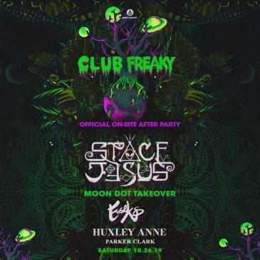 Club Freaky Ft. Space Jesus - HOUSTON: Main Image
