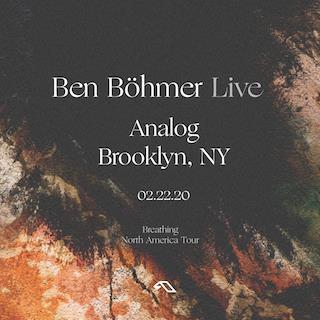 Ben Böhmer LIVE: Main Image