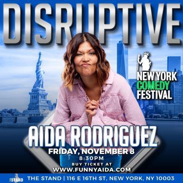 NYCF Presents Aida Rodriguez: Disruptive: Main Image