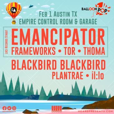 BALLOON POP - feat. Emancipator, Blackbird Blackbird, & More: Main Image