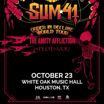 SUM 41: ORDER IN DECLINE TOUR-img