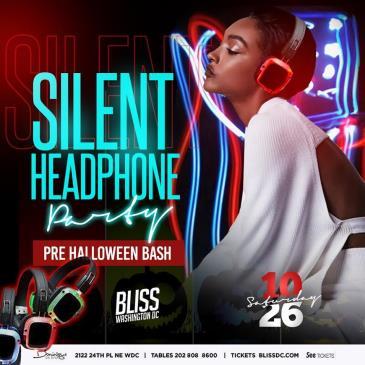 SILENT HEADPHONE PARTY - PRE HALLOWEEN BASH !-img