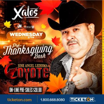 PRE-THANKSGIVING BASH CON EL COYOTE