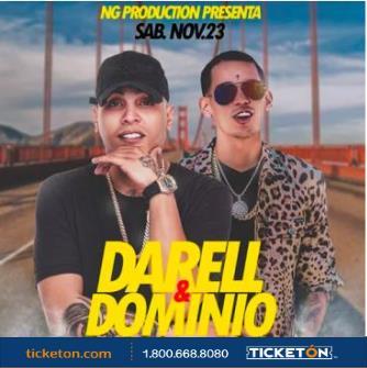 DARELL & DOMINIO: Main Image