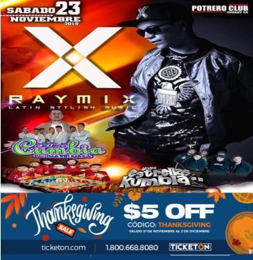 RAYMIX Y MAS!: Main Image