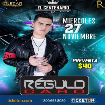 CANCELED-REGULO CARO: Main Image