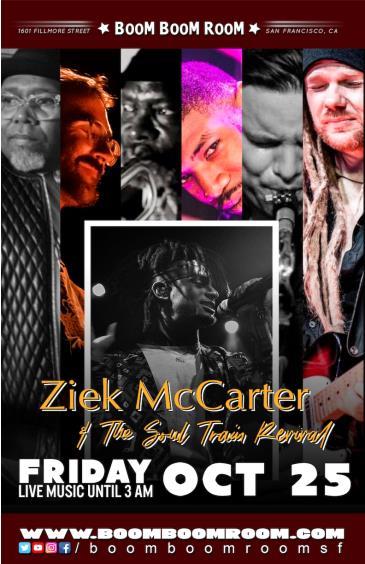 Ziek McCarter & The SOUL TRAIN REVIVAL: Main Image