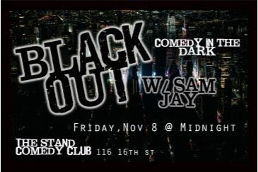 NYCF Presents: Black Out, Comedy in the Dark with Sam Jay: Main Image