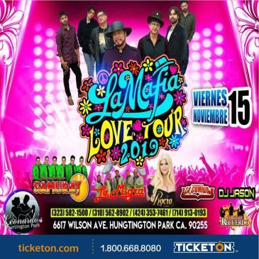 LA MAFIA LOVE TOUR 2019: Main Image