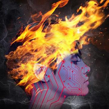 The Robot Bonfire, Phantomelo: Main Image