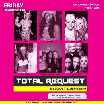 TOTAL REQUEST - A 2000's TRL DANCE PARTY-img