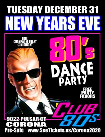 80s New Years Eve: Main Image