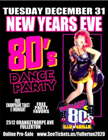 Totally 80s New Years Eve: Main Image