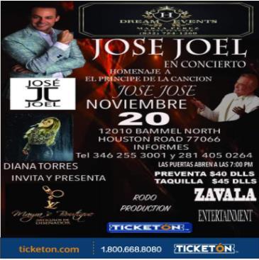 JOSE JOEL EN CONCIERTO: Main Image