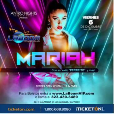 MARIAH EN LA BOOM DE LOS ANGELES!