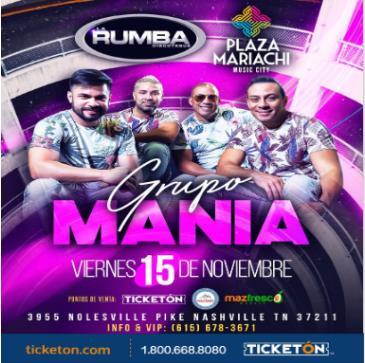GRUPO MANIA Y SONORA CARRUSELES: Main Image