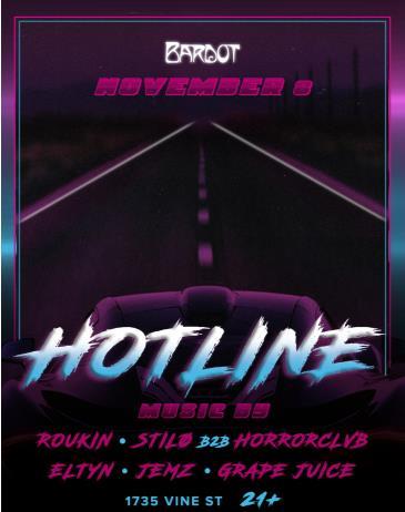 HOTLINE // BARDOT: Main Image
