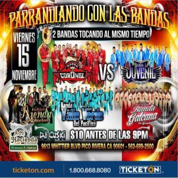 PARRANDIANDO CON LAS BANDAS: Main Image