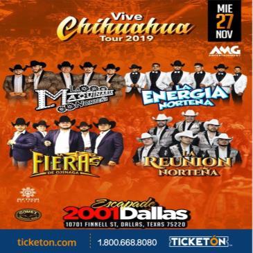 VIVE CHIHUAHUA TOUR 2019