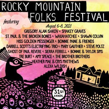 31st Annual Rocky Mtn Folks Festival:
