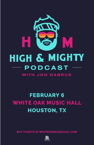 High and Mighty Podcast with Jon Gabrus: Main Image