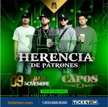 HERENCIA DE PATRONES EN CAPOS NIGHTCLUB: Main Image