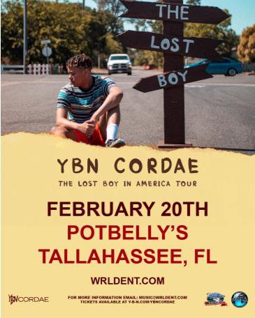 YBN Cordae - Tallahassee, FL: Main Image