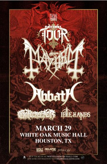 The Decibel Magazine Tour CANCELLED: Main Image
